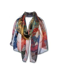 Burne Jones Chiffon Scarf