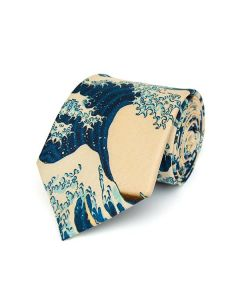 The Great Wave Silk Tie