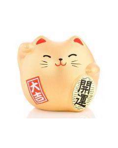 Fortune Lucky Cat - Gold