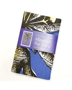 Blue Mandrake Tea Towel