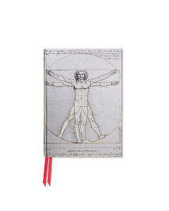 Da Vinci: Vitruvian Man - Foiled Pocket Journal