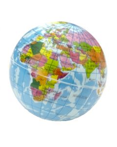 World Atlas Bouncy Ball