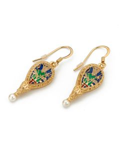 Alfred Jewel Earrings By Bill Skinner