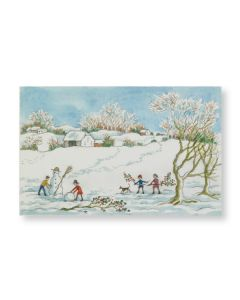 Ashmolean Children Playing Christmas Cards