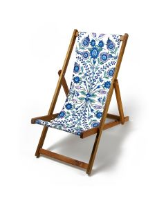 Flower Sprays Deck Chair