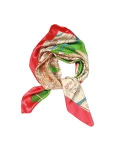 Helen Chatterton Mulberry Oxford Autumn Silk Scarf