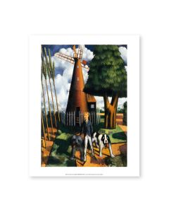 Mark Gertler - Gilbert Cannan And His Mill Print