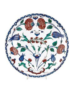 Roses & Tulips Tin Plate