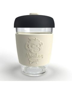 Monkey Coffee Cup with HSM Logo