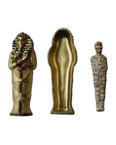 Sarcophagus With Mummy