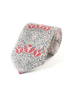 William Morris Bourne Silk Tie